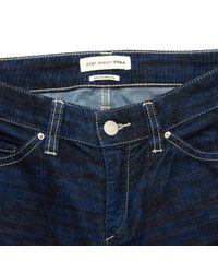 Étoile Isabel Marant Blue Anthracite Cotton Jeans