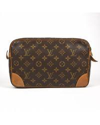Petite maroquinerie en toile Louis Vuitton pour homme en coloris Brown