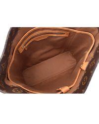 Bolsa de mano en lona marrón Vavin Louis Vuitton de color Brown