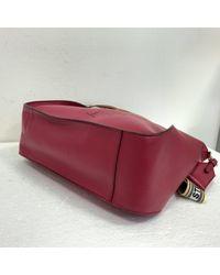 Bolsa de mano en lona rojo Stella McCartney de color Red