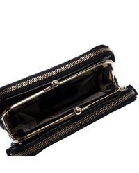 Dolce & Gabbana Black Leder Clutches
