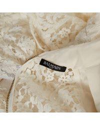 Balmain Multicolor \n Ecru Cotton Top