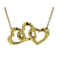 Collar Elsa Peretti de Oro amarillo Tiffany & Co de color Yellow