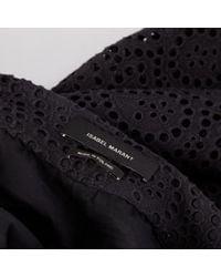 Gonna in cotone nero \N di Isabel Marant in Black
