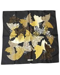 Ferragamo Metallic Pre-owned Multicolour Silk Scarves