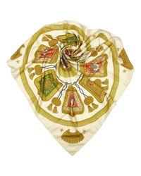Hermès Metallic Seide Schals