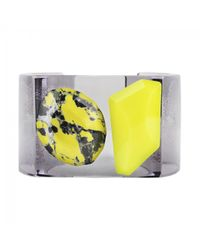 Stella McCartney - Yellow Pre-owned Plastic Bracelet - Lyst