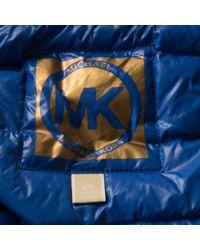 Michael Kors Blue Anorak