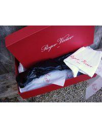 Roger Vivier \n Black Patent Leather Boots