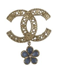 Chanel Multicolor Cc Broschen