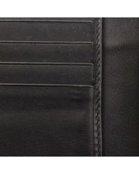 Cartera en cuero negro Bottega Veneta de color Black