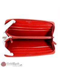 Chanel Red Leder Portemonnaies