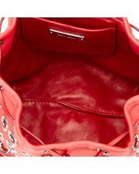 Miu Miu Red Burgundy Leather