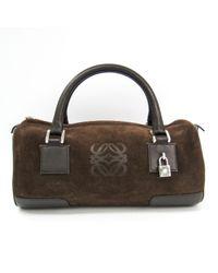Loewe Brown Amazona Handtaschen