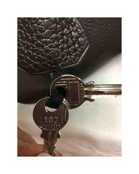 Hermès Brown Bolide Leder Handtaschen