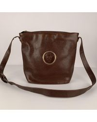 Sac à main \N en Cuir Marron Versace en coloris Brown