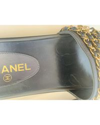 Sandali Blu di Chanel in Blue