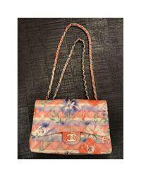 Chanel Multicolor Timeless/classique Leder Handtaschen