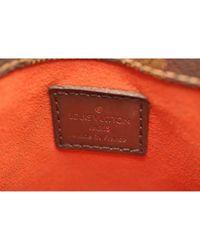 Borsa a mano in tela marrone \N di Louis Vuitton in Brown