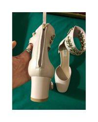 Escarpins Tango en Cuir Rose Valentino en coloris Green