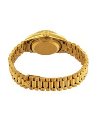 Reloj Lady DateJust 26mm de Oro amarillo Rolex de color Metallic
