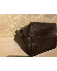 Louis Vuitton Brown Leder Handtaschen