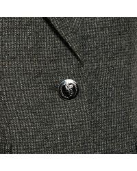 Barbara Bui Gray Grey Wool