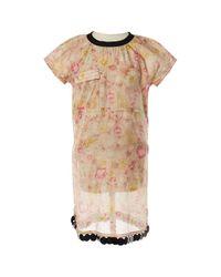 Robe en Coton Rose Marni en coloris Pink