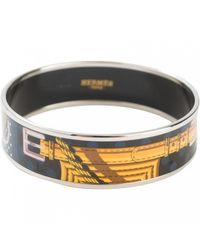 Hermès | Pre-owned Yellow Metal Bracelet Bracelet Email Large | Lyst
