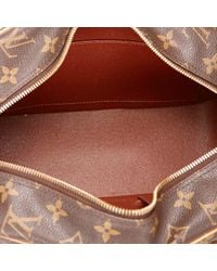 Louis Vuitton Brown Cloth