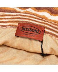 Gonna in lana marrone \N di Missoni in Brown