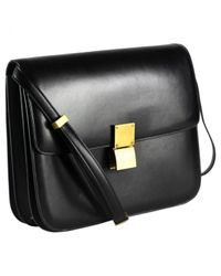 Céline Black Classic Leder Handtaschen
