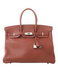 Hermès Multicolor Birkin 35 Leder Handtaschen
