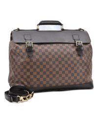 Bolsos de viaje en lona marrón West End Louis Vuitton de color Brown