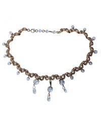 Dior - Metallic Pre-owned Necklace - Lyst