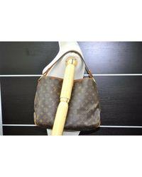 Louis Vuitton Brown Delightful Leinen Handtaschen