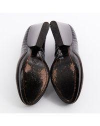 Dries Van Noten \n Black Leather Heels