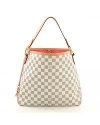 Louis Vuitton Natural Leinen Handtaschen