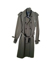 Jean Paul Gaultier Multicolor Khaki Wool Coat