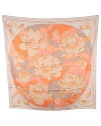 Hermès Pink Silk Handkerchief