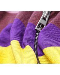 Loewe Wolle Weste in Purple für Herren