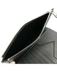Louis Vuitton Leder Kleinlederwaren in Black für Herren