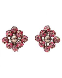Louis Vuitton | Red Pre-owned Earrings | Lyst
