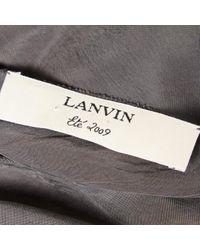 Top grigio di Lanvin in Gray