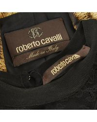Roberto Cavalli \n Brown Silk Dress