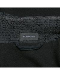 Giacca. Giubbotto in viscosa nero di Jil Sander in Black da Uomo