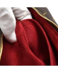 Borsa a mano in tela marrone Viva Cité di Louis Vuitton in Brown