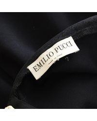 Emilio Pucci \n Black Viscose Dress