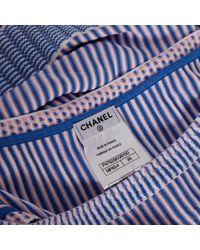 Chanel Blue Midi kleid