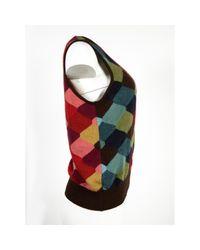 Pull-over en laine Chloé en coloris Brown
